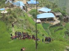 Jharlang dopo sisma 2