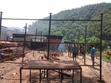 costruzione di edifici semi permanenti