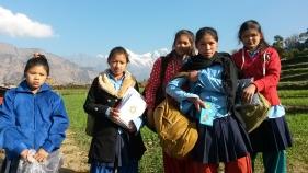 material distribution in Jharlang school (13)