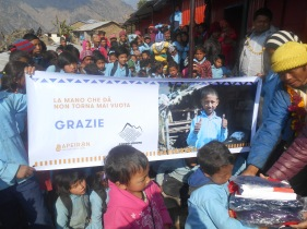 material distribution in Jharlang school (2)